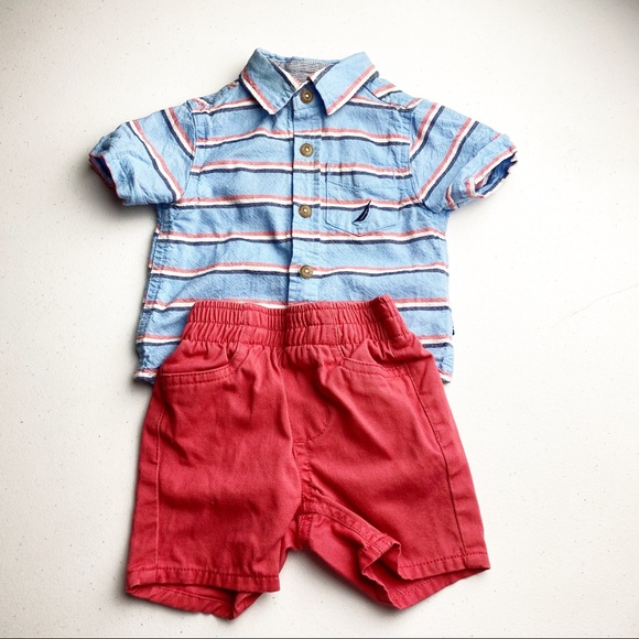 5 for $20 SALE Nautica Polo Outfit
